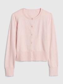 갭 키즈 여아용 가디건GAP Kids Cardigan Sweater,soft ivory