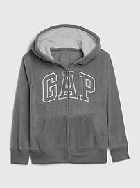 갭 키즈 집업 후드티 Kids Gap Logo Hoodie,blue