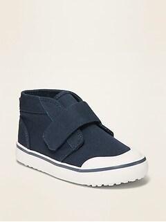 Oldnavy Unisex Navy Canvas Chukka Sneakers for Toddler