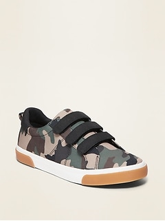 Oldnavy Camo-Print Triple-Strap Sneakers for Boys