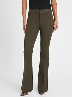 High-Rise Flare Sloan Pant