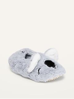 Oldnavy Faux-Fur Critter Slipper Socks for Girls