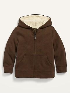 Oldnavy Unisex Sherpa-Lined Zip Hoodie for Toddler