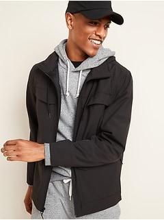 Oldnavy Go-H20 Water-Resistant Packable-Hood Utility Jacket for Men