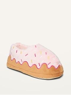 Oldnavy Gender-Neutral Cozy Donut Slippers for Kids