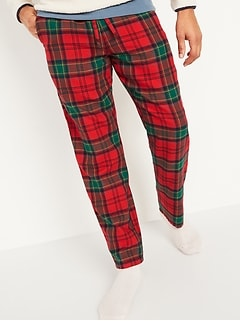 Oldnavy Plaid Flannel Pajama Pants for Men