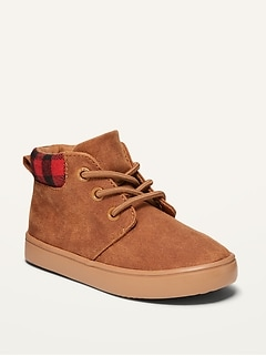 Oldnavy Faux-Suede Mid-Top Chukka Boots for Toddler Boys