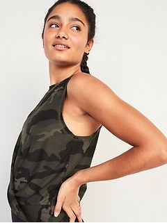 Oldnavy Breathe ON Twist-Hem Cropped Tank Top for Women