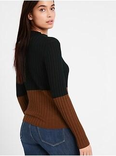 Bananarepublic Merino Color-Block Sweater