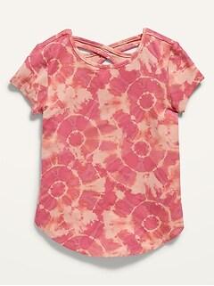 Oldnavy Short-Sleeve Tulip-Hem Tunic for Toddler Girls