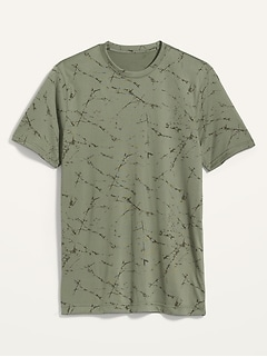 Oldnavy Go-Dry Cool Odor-Control Printed Core Tee for Men