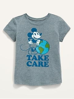 Oldnavy Disney© Mickey Mouse Earth Day Tee for Toddler Girls