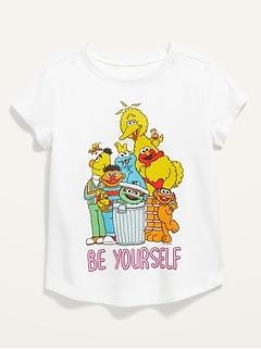 Oldnavy Sesame Street™ Be Yourself Short-Sleeve Tee for Toddler Girls