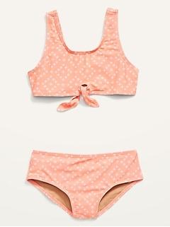 Girls Swimwear One-Piece Bathing Suit for Toddler Girl |Summer Kids bikini Teen Junior Girls Swimsuits Paisley Pink Swimsuit for Girls