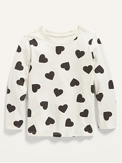 Oldnavy Unisex Long-Sleeve Printed Jersey T-Shirt for Toddler