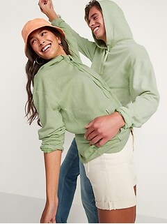 Vintage Garment-Dyed Gender-Neutral Pullover Hoodie for Adults