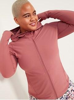 Oldnavy PowerSoft Hooded Zip Run Jacket for Women